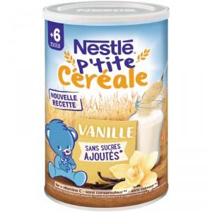 P'tite céréale Vanille Nestlé pour enfant (via 0.66€ sur la carte de fidélité + 0,6€ de BDR)