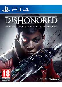 Dishonored 2 : La Mort de l'Outsider sur PS4