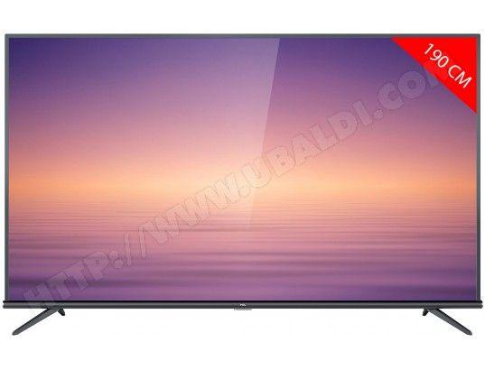 """TV LED 75"""" TCL 75EP663 - 4K UHD, DALLE VA - Smart TV"""