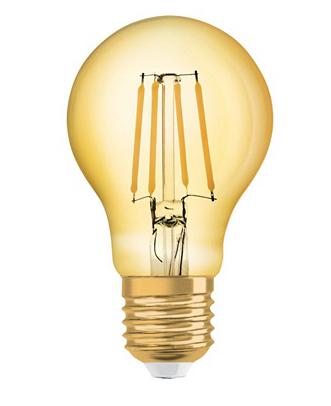 """Lot de 2 ampoules LED Osram """"Vintage 1906"""" - E27, Blanc chaud, 4 W"""