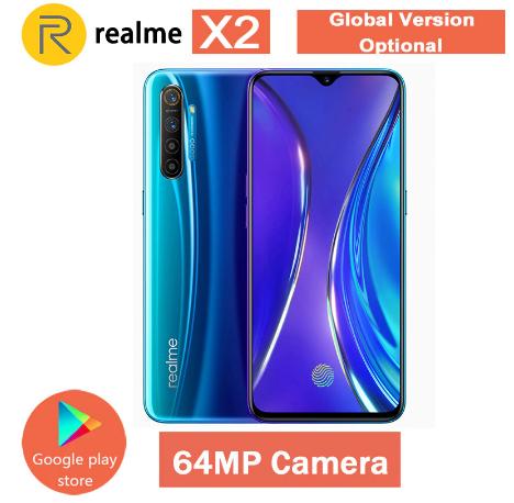 "Smartphone 6.4"" Realme X2 - Snapdragon 730G, 6 Go, 64 Go"