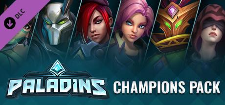 Sélections de DLC (Pack Champions, Season Pass 2019) sur Paladins (Dématérialisé, Steam)