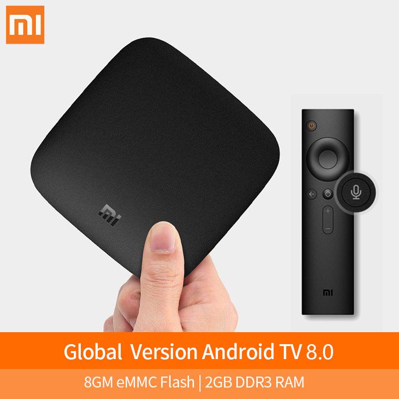 Box TV Android Xiaomi Mi Box 3 - 4K UHD, Cortex A53, 2 Go de RAM, 8 Go, Android 8.1