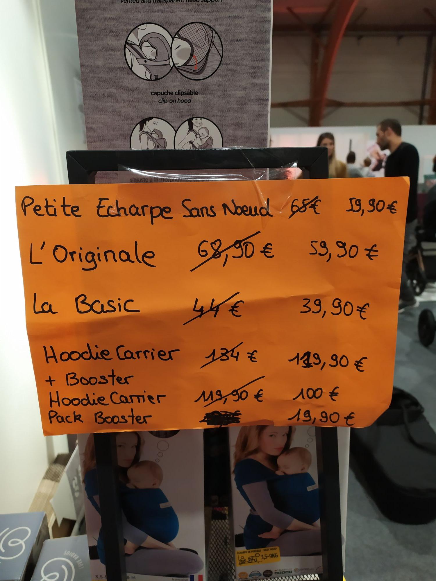 Porte bébé HoodieCarrier Love Radius - Salon Baby Rennes (35)