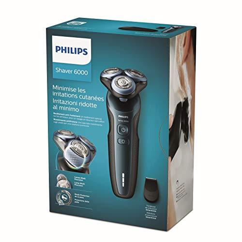 Rasoir électrique Philips Series 6000 S6610/11 pour Peaux Sensibles