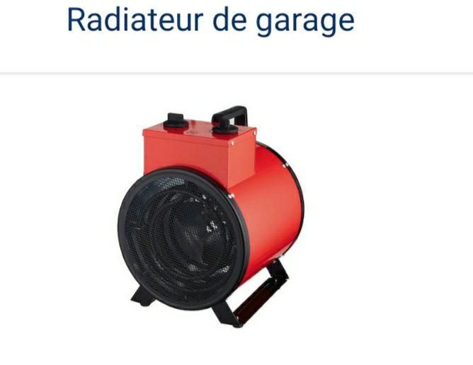 Radiateur de garage Bluesky