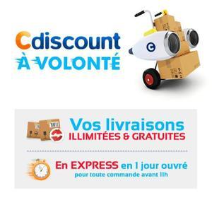 Abonnement d'un an au service Cdiscount à volonté (Livraison express gratuite dès 25€ d'achat)