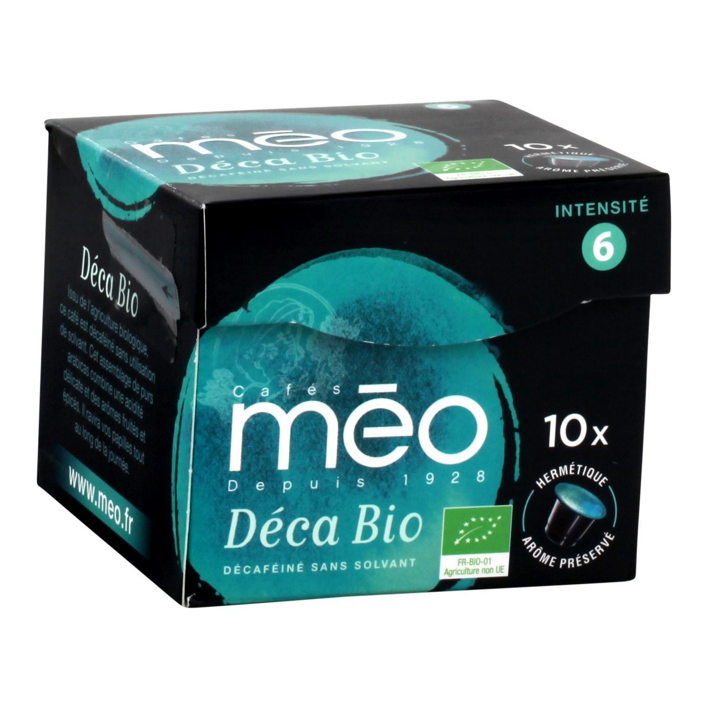 4 Packs de 10 capsules de café Méo compatibles Nespresso (via Shopmium)
