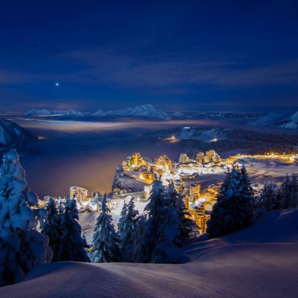 Sélection de forfaits de ski - Ex: Forfait adulte 6 jours valable du 5 au 19/04/2020 avec accès à Aquariaz à 102€ (enfant 74€)