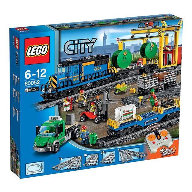 Jeu de construction Lego City : Le train de marchandises, n°60052