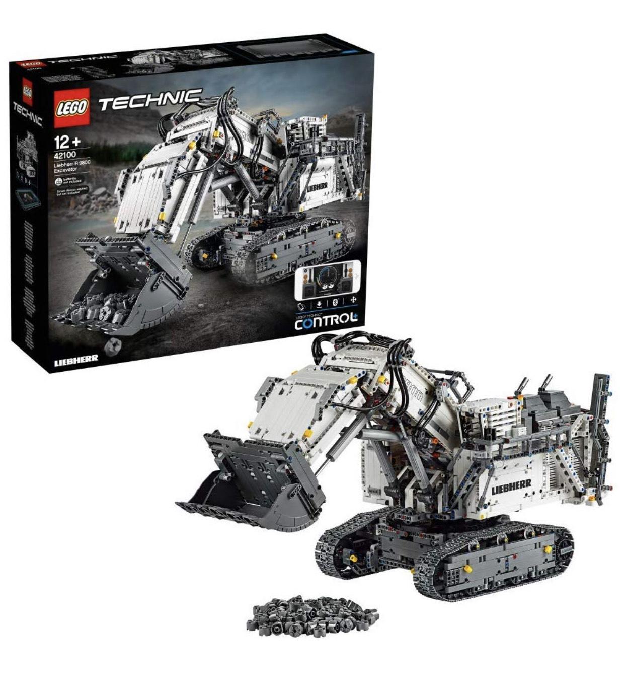 Jeu de Construction Lego Technic n°42100 - La Pelleteuse Liebherr R 9800