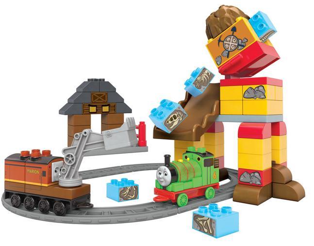 Jeu de construction Megablocks Percy le Brave Thomas & Friends