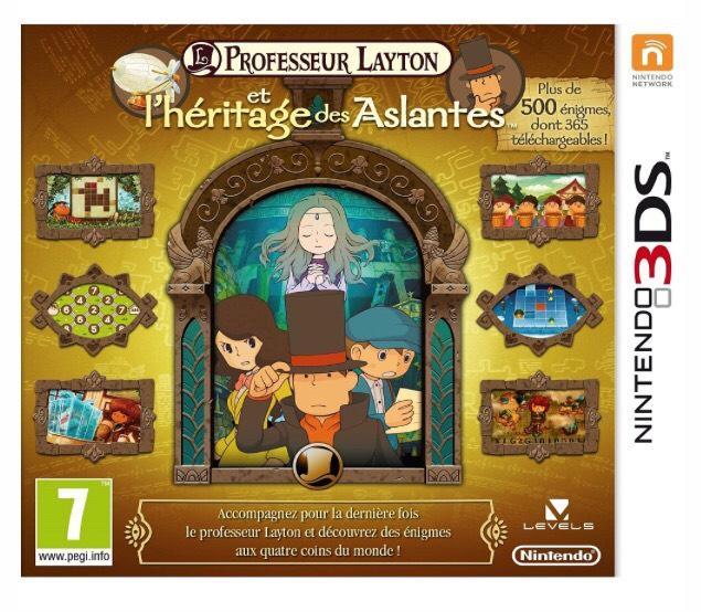 Jeu Professeur Layton et l'héritage des Aslantes sur Nintendo 3DS