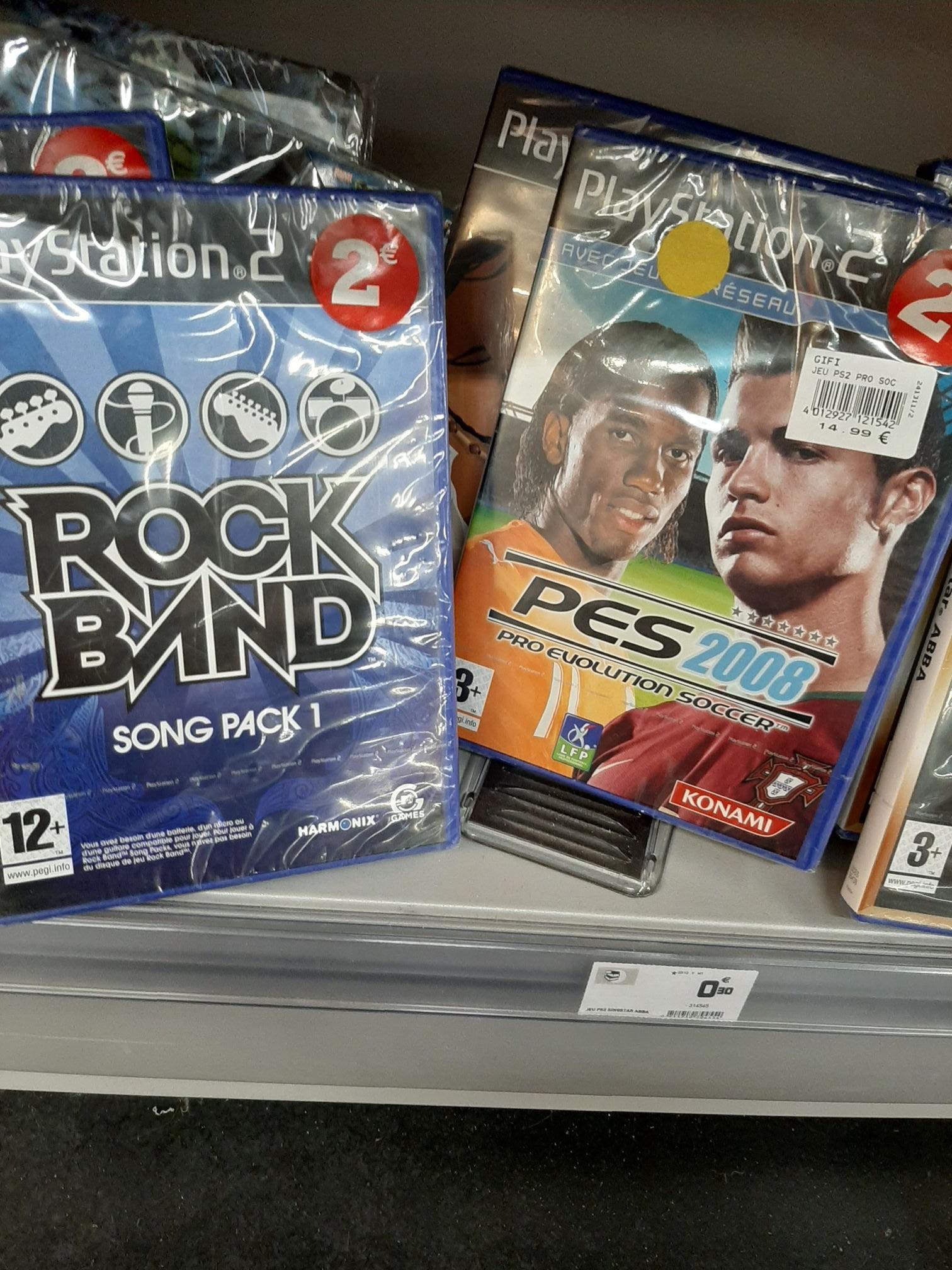 Sélection de jeux sur PS2 en promotion - La Seyne Sur Mer(83)