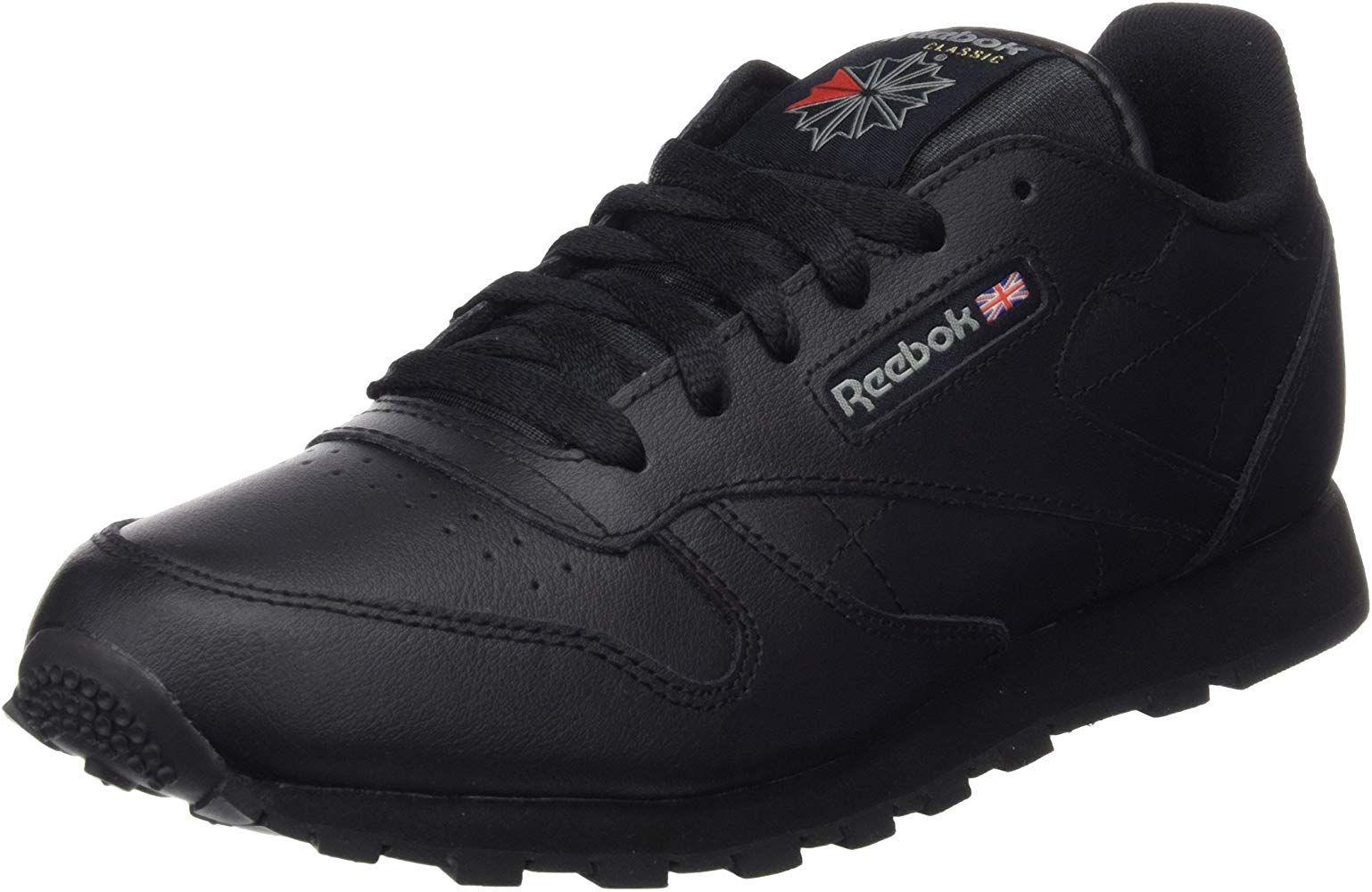 Chaussures pour enfants Reebok Classic Leather - Noir, Taille 29