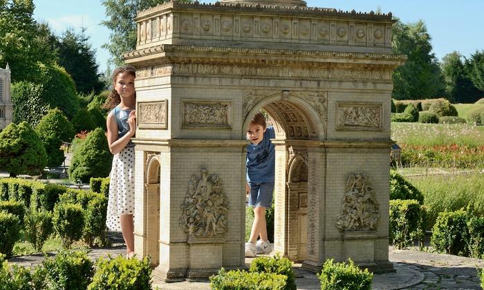 1 billet enfant ou adulte pour le parc France Miniature (Gratuit pour les moins de 4ans) - Élancourt (78)