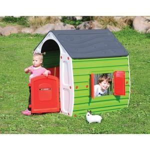 Maison de jardin pour enfant Star Play - 102x90x109 cm