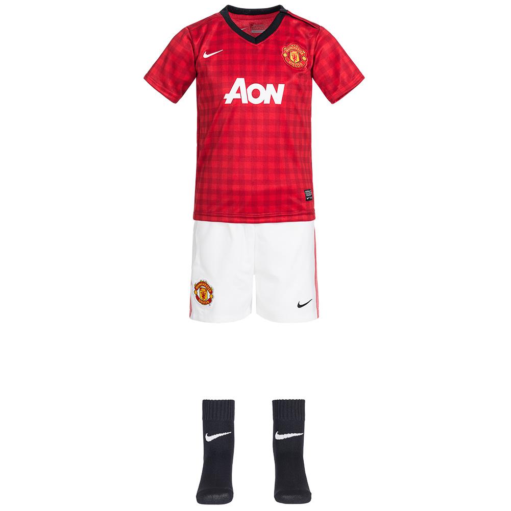 Mini kit Manchester United Ensemble Nike Maillot / Short / Chaussette pour Bébé
