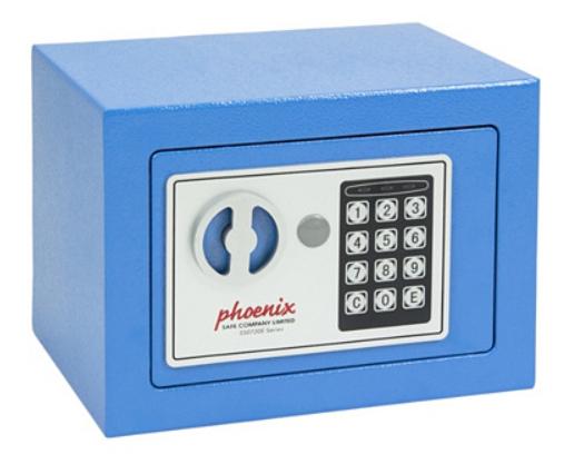 Coffre-fort Phoenix Safe Compact à Verrouillage Electronique - 170 x 230 x 170 mm