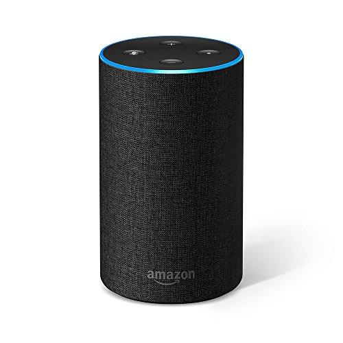 Enceinte connectée Amazon Echo 2 (2ème génération) - Plusieurs coloris