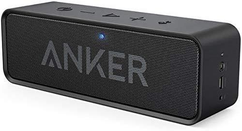 Enceinte Bluetooth Anker SoundCore (Noir) - 2 x 3W, NFC, Autonomie 24h (Vendeur tiers)