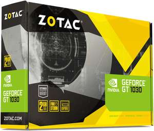 Carte Graphique ZOTAC GeForce GT 1030 - 2Go (Frontatliers Suisse)