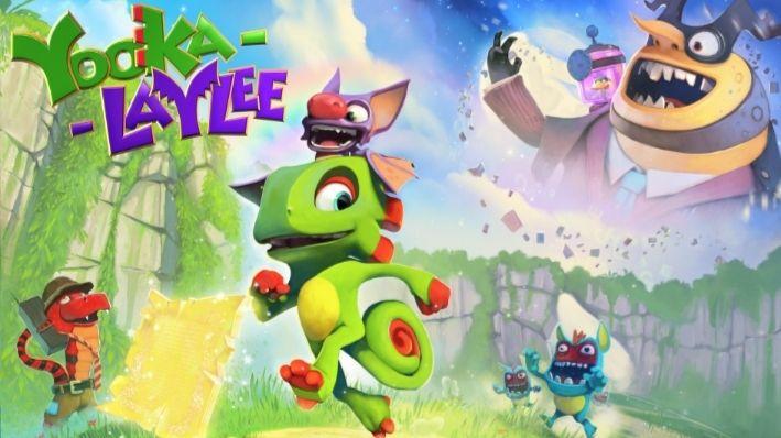 Jeu Yooka-Laylee sur Nintendo Switch (Dématérialisé - eShop Canadien)