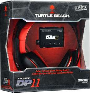 Micro-casque pour pour PS3/PC - Turtle Beach Ear Force DP11