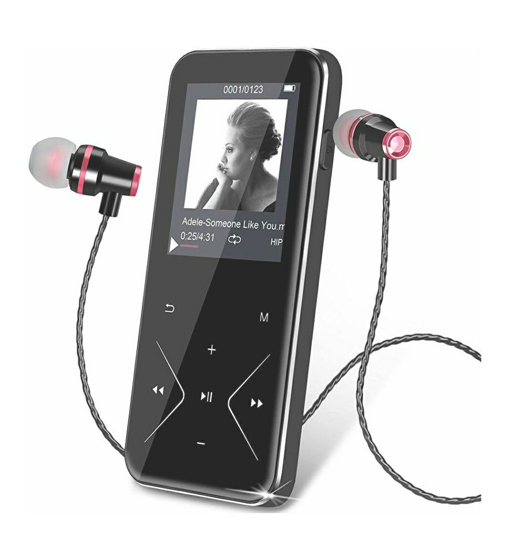Lecteur MP3 Bluetooth avec Boutons Tactiles KLANGTOP - 16 Go, Bluetooth 4.0, Radio FM (vendeur tiers)