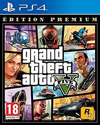 Jeu GTA V Edition Premium sur PS4