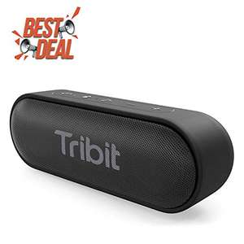 Enceinte Bluetooth Tribit XSound Go - 12 W, étanche IPX7, noir (vendeur tiers)