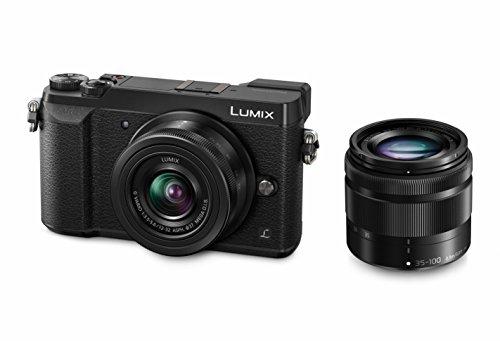 Appareil photo numérique compact Panasonic Lumix DMC-GX80 (16 Mpix, Live MOS) + objectifs 12-32 + 35-100 mm