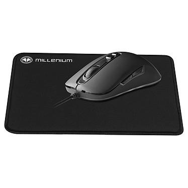 Pack souris filaire Millenium Optic 1 Advanced (8000 dpi) + tapis de souris Surface S