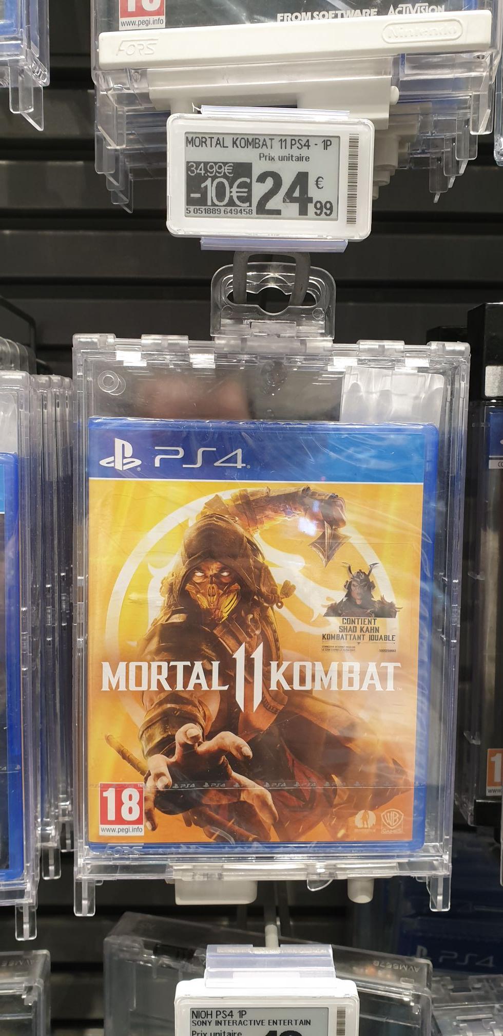 Mortal Kombat 11 sur PS4 - Frouard (54)