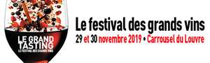 Lot de 2 billets pour le Grand Tasting Paris le 29 et 30 novembre 2019 - Carrousel du Louvre Paris (75)