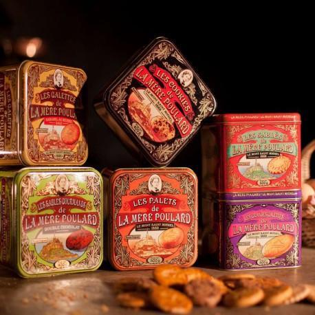 Collection de biscuits La Mère Poulard - 8 coffrets