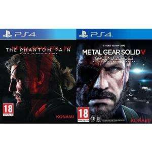 Pack 2 Jeux Ps4 Metal Gear Solid V : The Phantom Pain & Ground Zeroes