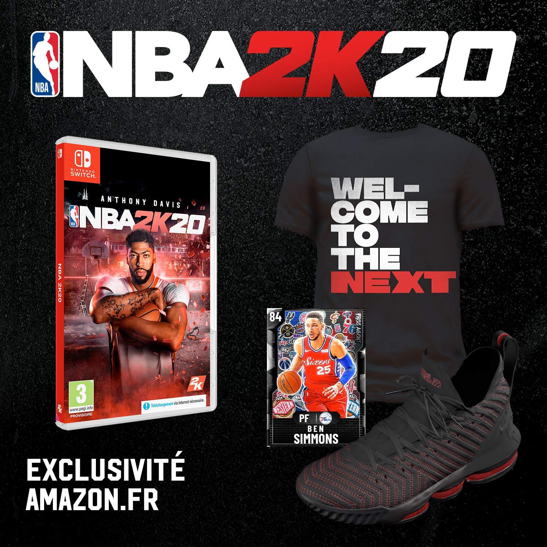 NBA 2K20 + DLC sur Nintendo Switch