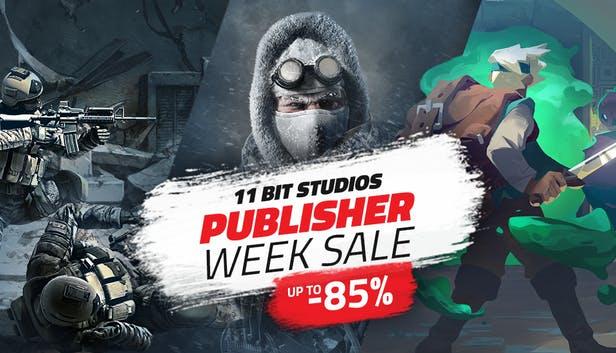 Jusqu'à 85% de réduction sur les jeux 11 bit studios