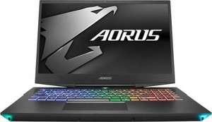 "PC Portable 15.6"" Gigabyte Aorus X9-7DE0250W - Full HD, RTX 2070, i7-8750H, 16 Go RAM, 512 Go SSD, Windows 10, QWERTZ (one.de)"