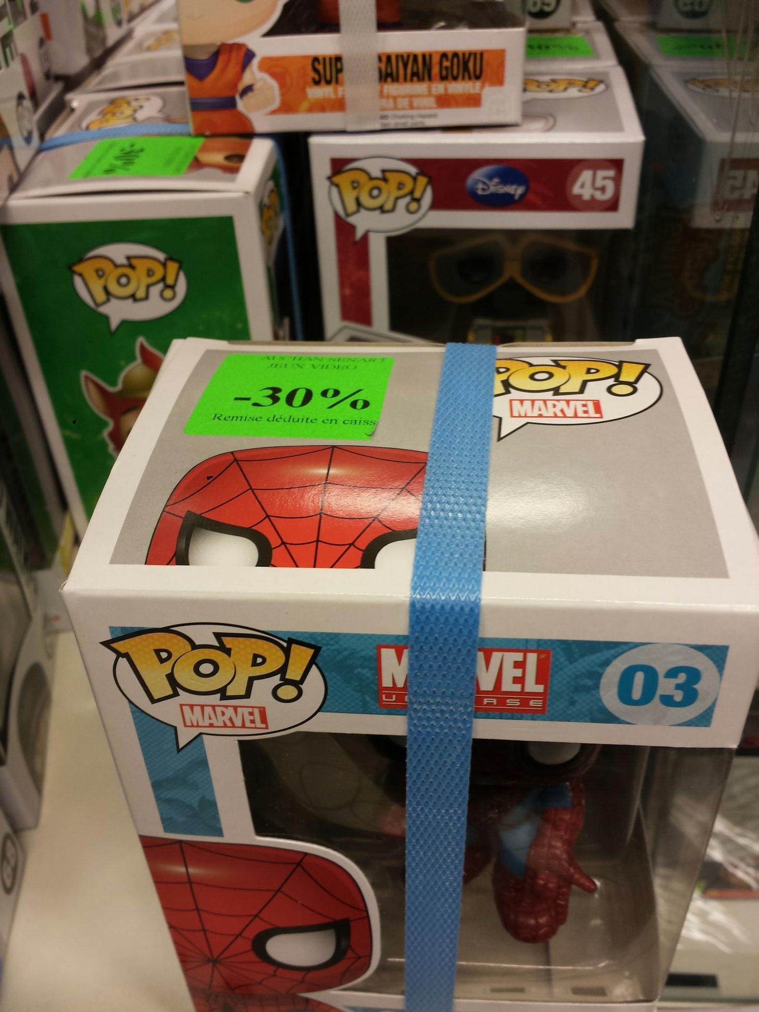 -30% sur une sélection de figurines POP!