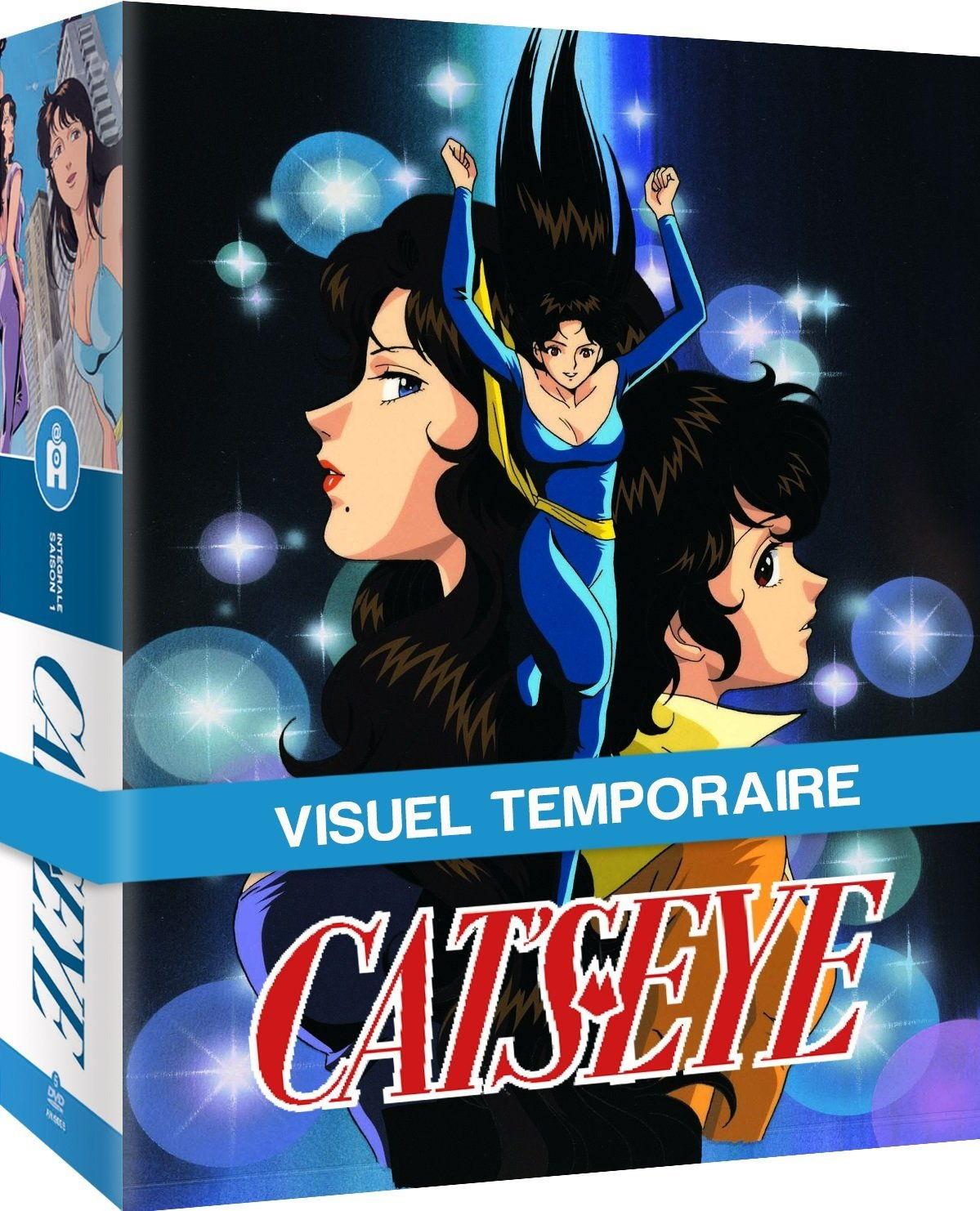 Coffret Blu-ray Cat's Eye - Intégrale (Saison 1 + 2)
