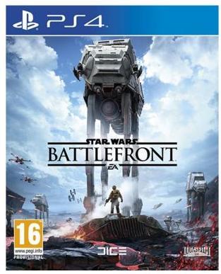 Jeu Star Wars : Battlefront - PS4 via le site et l'application mobile