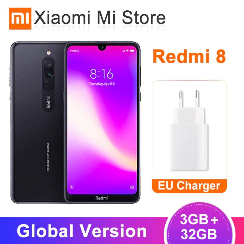 "Smartphone 6.22"" Xiaomi Redmi 8 - RAM 3Go, 32Go"