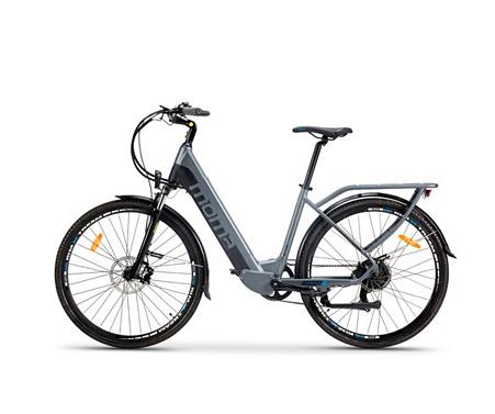 """Vélo électrique 28"""" Moma Bikes Ebike 28.2 - 250 W, 25 km/h, gris et noir"""