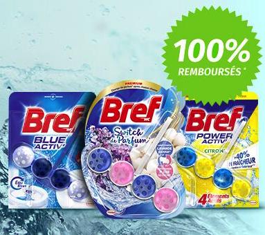 """1 Produit """"Bref WC"""" 100% remboursé (via ODR)"""