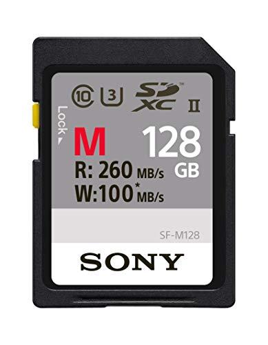 Carte mémoire SD UHS-II SDXC Sony SFG1M - 128 Go (Frais d'importation et de port inclus)