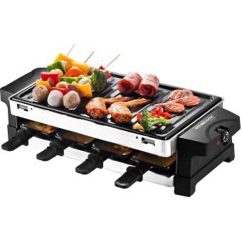 Appareil à Raclette 2-en-1 Finecook By Akor Noire, Akor, Noire