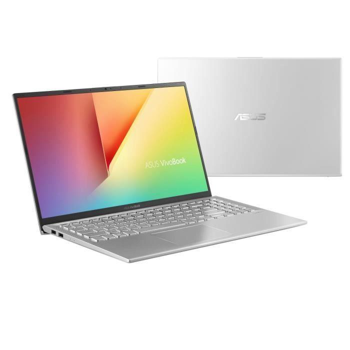 "PC Portable Asus 15"" A512FA-EJ1274T - FHD, i5-8265U, RAM 12G, stockage 1TB + 256G SSD, Windows 10"