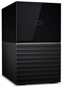 Disque dur externe WD My Book Duo - USB 3.1, 2 baies avec sauvegarde - 16 To